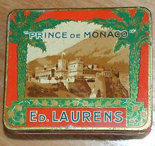 Ancienne boite de cigarettes prince de Monaco ( ed. laurens )