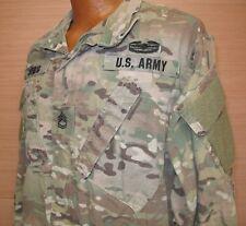 US Military Issue Multicam Scorpion OCP Camo Army Combat Coat Jacket FR Sz ML