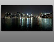 Quadro Moderno Cm 100x50 Stampa su Tela Arte Arredo Design New York Città Casa