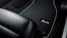 original Audi A6 4f alfombrillas para polvo textiles delant. + TRASERO