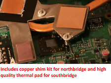 Dell M5030 Motherboard GPU Copper Shim Thermal Pad - Prevent 7 Beep Overheat