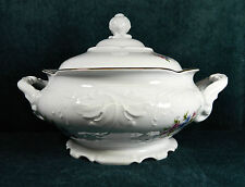 "VERY RARE WAWEL POLAND ""WAV88"" PATTERN SOUP TUREEN - BEAUTIFUL PATTERN!"