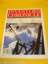 INVESTORS CHRONICLE - CONSTRUCTION SHARES - MAY 15 1992