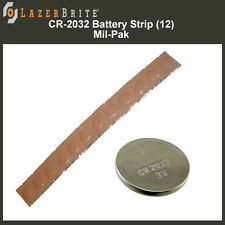 LazerBrite® Tactical Light System CR-2032 Battery 12 Pack