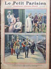 LE PETIT PARISIEN 1909 N 1071 LES SOUVERAINS RUSSES A CHERBOURG
