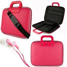 "NEW Pink Cady Laptop Shoulder Bag Case for Apple MacBook Pro/Air 13.3"" +Earphone"