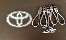 5 PCS NEW TOYOTA HILUX TONNEAU COVER REPLACEMENT BUNGEE STRAP AND RIVET.BLACK