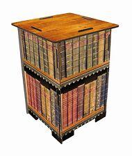 Werkhaus Bibliothek Antik Bücher Geringer Holzhocker