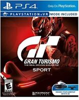 PLAYSTATION 4 PS4 VIDEO GAME GRAN TURISMO SPORT BRAND NEW AND SEALED