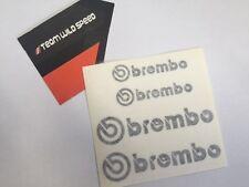 Brembo Brake Caliper Stickers Black EVO GTR CT9A CP9A R32 R33 R34