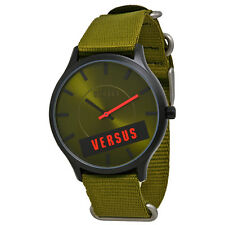 Versus by Versace Green Canvas Ladies Watch S06080014
