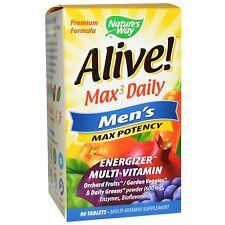 Vivo! MAX3 DAILY MEN'S MAX POTENZA Multi-vitamin - 90 COMPRESSE DA Natures Way