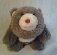 "Vintage Rare Gund 1980 HTF Brown Teddy Bear 7"" Plush"