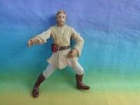 2001 Hasbro Star Wars Obi-Wan Kenobi Coruscant Chase Action Figure - as is