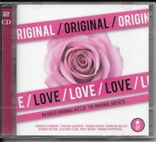 2 CD SINEAD O 'Connor, Blondie, la Chine Crisis, Hot Chocolate' Original Love 'NEUF