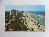 c1970 Colour Postcard. Daytona Beach, Florida (USA). Beachfront & Buildings