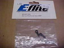 E-FLITE HELICOPTER PART - EFLH1153 = SERVO PUSHROD SET : BCP  (NEW)