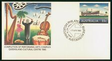 MayfairStamps Australia FDC 1985 Queensland Cultural Center First Day Cover wwr5