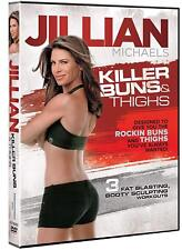 Jillian Michaels Killer Buns & Thighs DVD Fitness Training Workout Exercise NEW