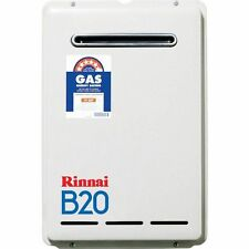 Rinnai B20 Continuous Flow NG Gas Hot Water System 50C Preset B20L60
