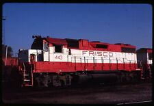 Original Rail Slide - SLSF Frisco 443 St Louis MO 1-1988