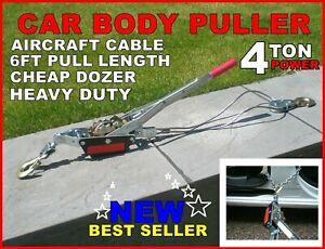Car Body Puller Jig Garage Spares Tool Repairs Or Hoist Dent Lifter Power 4 TON