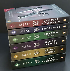 Vampire Academy Richelle Mead Paranormal Romance Paperback Book Set 1 to 6