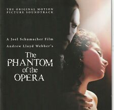 The Phantom Of The Opera: The Original Motion Picture Soundtrack CD