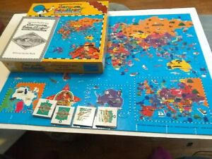 WHERE IN THE WORLD IS CARMEN SANDIEGO? Jr. DETECTIVE EDITION Vintage1995