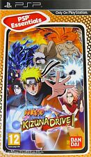 Naruto Shippuden Kizuna Drive PSP Brand New factory Sealed Fast Shipping