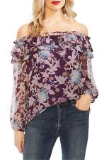 VINCE CAMUTO Poetic Blooms Off the Shoulder Top 159$  SIZE L