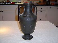 "wedgwood 14 1/2"" tall basalt vase"