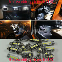 Error Free White Full 16 Light UPGRADE SMD LED Interior Kit For BMW E90 3 Series