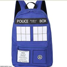 dr Doctor Who Tardis student canvas Bag Purse Backpack hot schoolbag