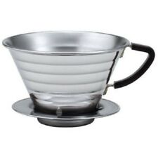 W/Tra Free Kalita Stainless WAVE Coffee Dripper  Coffee 155 ( 04021) From JAPAN