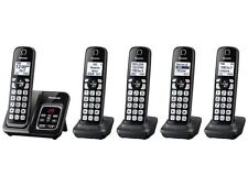 PANASONIC KX-TGD535M 5HS Expandable Cordless Telephone, ITAD, Met Black