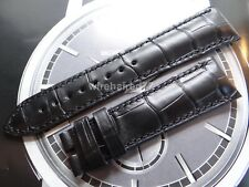 Vacheron Constantin 21mm Black Alligator Strap