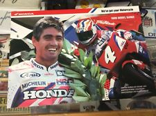 MICK DOOHAN HONDA 1995 MODEL BIKE RANGE CATALOGUE MINT CONDITION