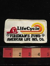 Vintage Lifecycle Firemen's Fund American Life Insurance Company Patch 66C6