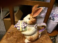 Longaberger Bunny Teapot - New in the box