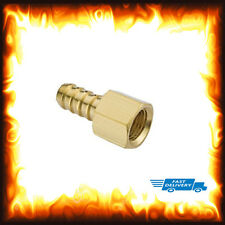"1/4"" BSP to 8mm Brass Female Barb Hose Tail Fitting Fuel Air Gas Water Hose Oil"