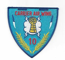 Carrier Air Group 10 (Blue Background) patch