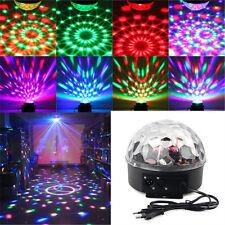 LED Stage Effect Light Lighting DMX512 RGB Disco DJ Party Club Show Crystal Ball