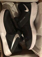 Brand New  Mens Nike Zoom Live TB Promo 902590-001 Black/Metallic Silver Size 10