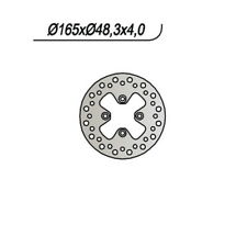 DISCO FRENO ANT. NG 608 01 BOMBARDIER-CAN AM DS, DS BAJA, DS X 650 65.9608 16566