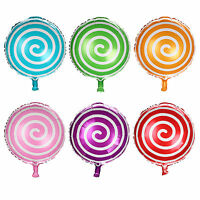 """18"""" CANDY BALLOONS For BIRTHDAY PARTY DECORATIONS LOLLIPOP"""