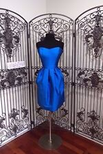 SR507 ALFRED SUNG D620 BAYSIDE BLUE SZ 10 $215 BRIDESMAID FORMAL DRESS