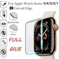 For iWatch Apple Watch Series 5/4/3/2/1 9H Tempered Glass Screen Protector Film