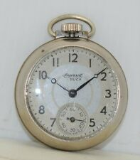 INGERSOLL BUCK Vintage Antique MADE IN USA Dime-Store Dollar Pocket Watch