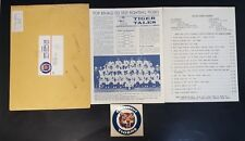1966 DETROIT TIGERS BASEBALL FAN CLUB LETTER ORIGINAL ENVELOPE PRICE LIST 113017
